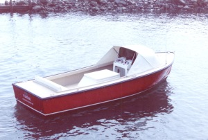 Ellis 24 Open Fisherman (early photo) - Original Color