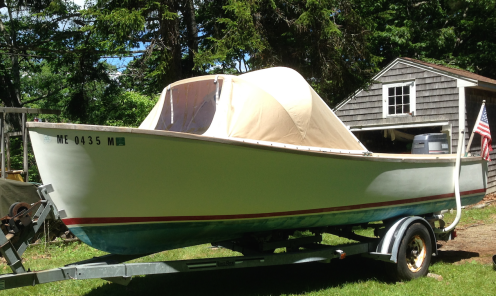 1985 Ellis 20 Open Fisherman