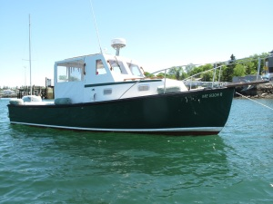 Ellis 24 Lobsteryacht