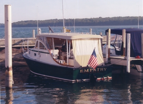 Ellis 24 Express Cruiser For Sale with Custom Top