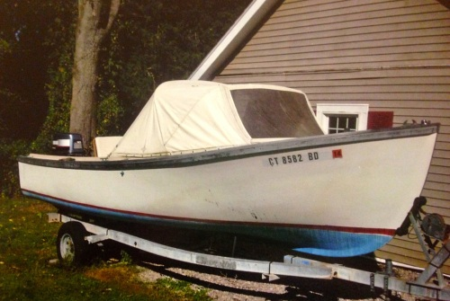 1987 Ellis 20 Open Fisherman