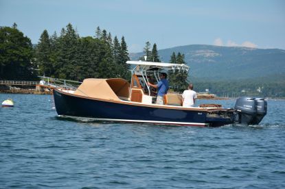 Refurbished Ellis 24 Open Fisherman