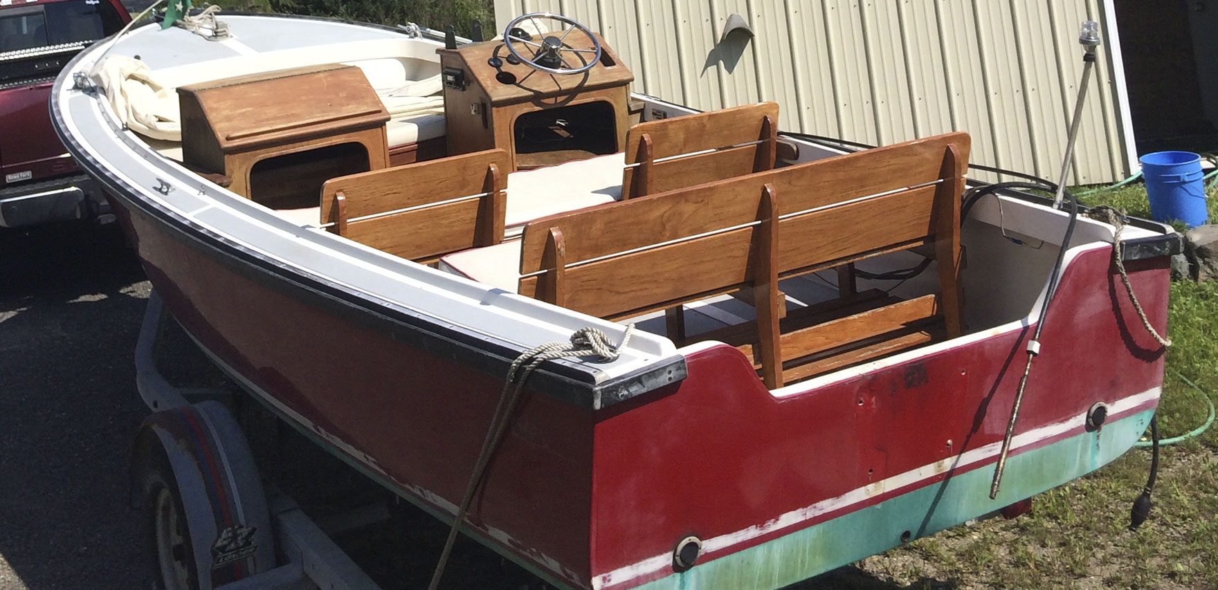 Ellis Boat For Sale: Ellis 20 Open Fisherman