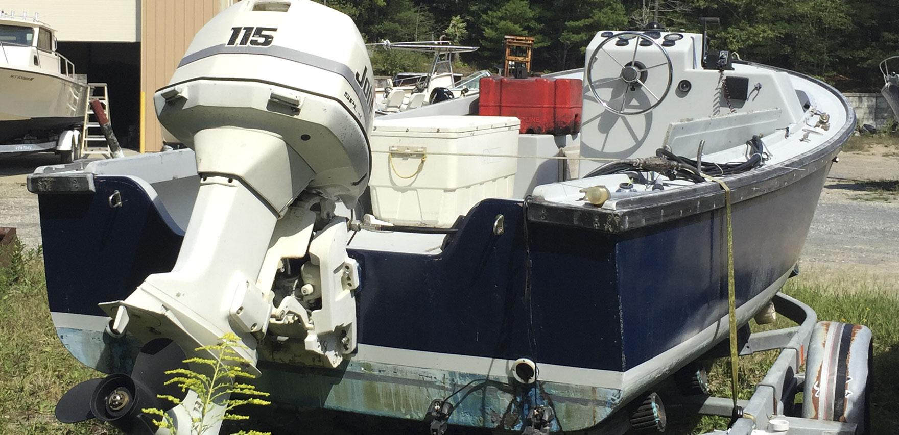 Ellis Boat For Sale: Ellis 20 Open Fisherman