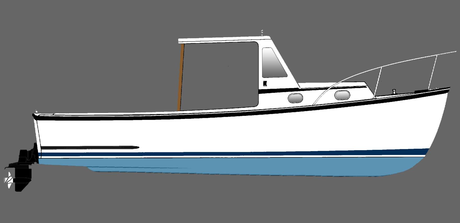 Ellis Boat For Sale: Ellis 24 Lobsteryacht ('93)